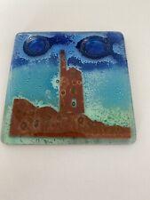 Jo Downs Glass Rare Tin Mine Coaster
