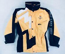 Salt Lake City 2002 Winter Olympics Ski Snow Jacket Marker Hooded Womens Mens XS