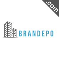 BRANDEPO.com 8 Letter Short .Com Catchy Brandable Premium Domain Name for Sale