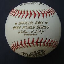 2000  RAWLINGS OFFICIAL  World Series Baseball NEW YORK YANKEES