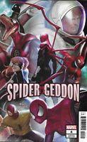 Spider-Geddon Comic Issue 4 Limited Variant Modern Age First Print 2019 Slott