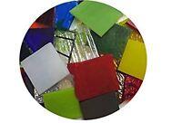Deluxe End Cuts Bullseye Glass Sampler Pack, 90 COE, 4 oz (Free Shipping)