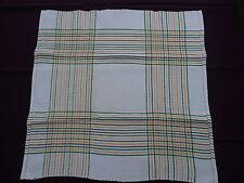 6 serviettes anciennes BASQUE