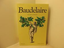 Baudelaire Oeuvres complètes Collection Bouquins Robert Laffont 1995 1040 pages