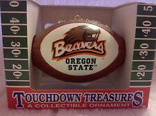 Oregon State Beavers Officially Licensed Mini Replica Football Ornament, Ncaa