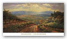 ITALIAN ART PRINT Tuscany Splendor Leon Roulette