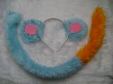Boots The Monkey From Dora The Explorer Ears And Tail Set Faux Fur Fancy Dress