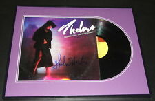 Thelma Houston Signed Framed 1979 Ride to the Rainbow Record Album Display
