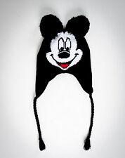 Disney MICKEY MOUSE LAPLANDER HAT Beanie CAP - POM POM EARS