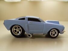 MUSCLE MACHINES - (1966) '66 FORD MUSTANG - (MATTE BLUE) - 1/64 DIECAST (LOOSE)