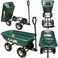 Rhyas 53376 Garden Tipping Trolley Cart