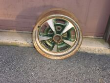 "1969  Pontiac Rally II Wheel Rim JA Code 14 x 6"" GTO LeMans Tempest Firebird"