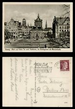 DR WHO 1944 GERMANY DANZIG POSTCARD C186184