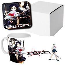 Blood+ - Anime - Manga - Coffee MUG CUP + Wooden Coaster - Japanese Anime