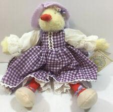 "Hallmark Bunnies By The Bay - Lil Daffodil plush duck collectible 13"" 2003 B1"