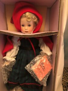 Little Red Riding Hood doll 16 inches Paradise Galleries original box COA