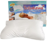 "Sobakawa Cloud Pillow 12.6"" x 18.5"" x 3.15"""