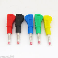 20sets 5colors High Quality Stackable Full Insulated Audio Power 4mm Banana Plug