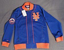 New York Mets Mitchell & Ness Jacket MLB baseball zippered track NWT Citi Field
