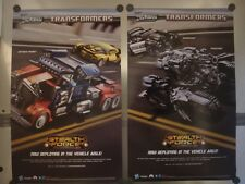 "TRANSFORMERS STEALTH FORCE - 15""x24"" D/S Promo Poster Comic Con SDCC 2010"