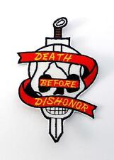 Death Before Dishonor Marine Corps Embroidered Military Patch Iron Sew AKPM1092