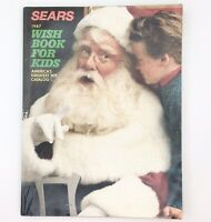 Vintage Sears Wish Book Christmas Catalog 1987 Department Store Advertising TB