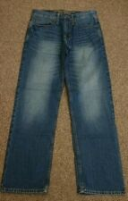 MENS 28 X 30 AMERICAN EAGLE OUTFITTERS JEANS RELAXED STRAIGHT 100% COTTON BLUE