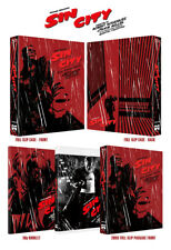 Sin City (2017, Blu-ray) Full Slip Case Edition / Theatrical + Extended