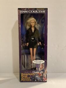 Ann Coulter DOLL 12in America's Real Action Heroes Talking - Still Talks