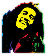 "Bob Marley sticker decal 4"" x 5"""