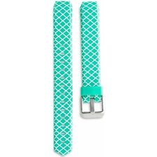 ONN Replacement Band - Fitbit Alta Mint Green/ White Design w/ Metal Buckle