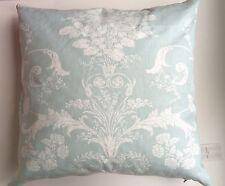 Laura Ashley Josette Square cushions 50 cm x 50 cm pillows Duck Egg Blue Cotton
