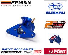 EPMAN vented Blow Off Valve for Subaru WRX / STI Forester Bolt on  BOV Blue