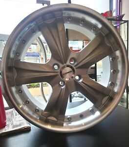"hrs h302 4x100 17"" 7j alloy wheel"