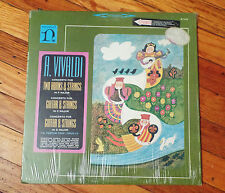 Antonio Vivaldi Concerto For Guitar and Strings in C Major Nonesuch Records (AL)