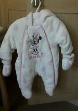 Newborn Minnie Mouse Winter Babygrow