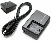 7.2V Battery + Charger for Panasonic NV-GS230 NV-GS320 NV-GS508 PV-GS35 PV-GS69