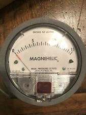 Dwyer Model 2015 Magnehelic Differential Pressure Gauge - New in Box Nos
