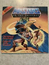 MOTU Masters of the Universe Mattel He-Man Comic Book With 2 Stories & Record!
