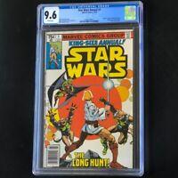 Star Wars Annual #1 (Marvel 1979) 💥 CGC 9.6 White Pages 💥 Luke Skywalker Comic