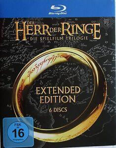 Der Herr der Ringe - Teil: 1 - 3 als Extended Edition auf 6 Blu-ray's [NEU/OVP]