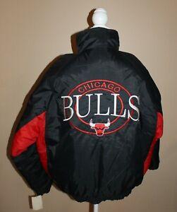 Competitor Official Licensed NBA Chicago Bulls Basketball Men's Coat Jacket M