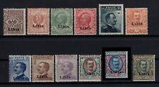 P129065/ LIBYA / ITALIAN COLONY / SASSONE # 1 / 12 MNH COMPLETE CV 3575 $