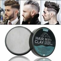 80g Hair Styling Clay Gel For Men Strong Hold Hairstyles Matte Finished Molding