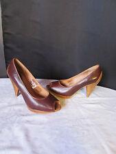 escarpins FOSSIL cuir marron/camel 37