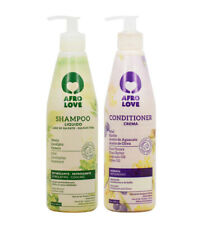 """Afro Love Shampoo + Conditioner 16oz  """"Duo"""" Hydrates, Protects & Gives Shine"""