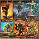 Lot Of 6 Beast Quest Adam Blade Dark Realm Set   Paperback Free Ship