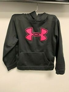 Under Armour Long Sleeve Hoody Size:6 to 8 (YMD/JM/M)