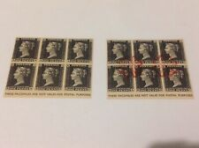 1962 Penny Black Castle Museum York, Great Britain Lot Of 5