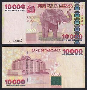 Tanzania 10000 shilingi 2003 BB+/VF+ P39  B-04
